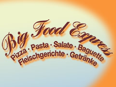 Pizzeria Big Food Express Logo